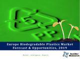 Europe Biodegradable Plastics Market Forecast and Opportunities, 2019