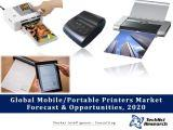Global Mobile/Portable Printers Market Forecast and Opportunities, 2020