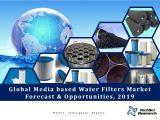 Global Media based Water Filters Market Forecast and Opportunities, 2019