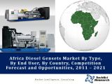 Africa Diesel Gensets Market By County (Nigeria, Tanzania, Kenya, Ethiopia, Uganda, Democratic Republic of Congo, South Africa, Sudan, Ghana, Cameroon, Mozambique, Zambia, RoA) By Type, By Application, By End User Market Opportunities & Forecast, 2021