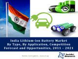 India Lithium-ion Battery Market By Type (Lithium Cobalt Oxide, Lithium Manganese Oxide, Lithium Iron Phosphate and Others), By Application (Consumer Electronics, Industrial and Automotive), Competition Forecast and Opportunities, 2011 – 2021