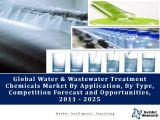 Global Water and Wastewater Treatment Chemicals Market By Type (Corrosion Inhibitors, Scale Inhibitors, etc.), By Application (Municipal Water Treatment, Power Generation, Oil & Gas, etc.) Competition Forecast & Opportunities,