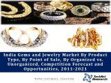 India Gems and Jewelry Market By Product Type (Gold, Diamond in Gold, Silver, Gemstones, Diamond and Others), By Point of Sale, By Organized vs. Unorganized, Competition Forecast and Opportunities,