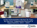 Global Dehumidifier Market By Type (Desiccant, Refrigerant, Thermoelectric & Others), By End Use (Industrial, Residential & Commercial), Competition Forecast & Opportunities,