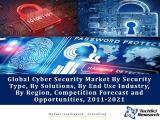 Global Cyber Security Market By Security Type (Network Security, Content Security, etc.), By Solutions (Identity & Access Management, Risk & Compliance Management, etc.), By End Use Industry, By Region, Competition Forecast and Opportunities, 2011-2021