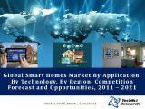 Global Smart Homes Market By Application (Energy Management Systems, Security & Access Control Systems, etc.), By Technology (Wireless Communication Technology, etc.), By Region, Competition Forecast and Opportunities, 2011 – 2021