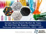 Europe Masterbatch Market By Type (White, Black, Color and Additive), By End User(Packaging, Construction, Automotive, Consumer Appliances & Others), By Country, Competition Forecast and Opportunities, 2011 - 2021