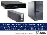 Middle East & Africa UPS Market By kVA Range (Less than 5kVA, 5.1 – 20kVA, 20.1 – 60kVA, 60.1 – 200kVA, Above 200kVA), By End User, By Country (Saudi Arabia, UAE, South Africa, Nigeria), Competition Forecast & Opportunities, 2011 –2021