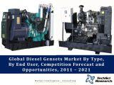 Global Diesel Gensets Market By Type (Low Power (<75 KVA), Medium Power (75.1-350 KVA), High Power (350.1-750 KVA), Very High Power (>750 KVA)), By End User, Competition Forecast and Opportunities, 2011 – 2021