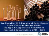 Saudi Arabia, UAE, Kuwait and Qatar Copper Pipes, Coils and Fittings Market By Type (K Type, L Type and M Type), By Application (Plumbing, HVAC and Refrigeration, and Industrial/OEM), Competition Forecast & Opportunities, 2011 – 2021