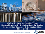 Global Helium Market By Type (Liquid & Gaseous), By Application (MRI & NMR, Semi-Conductors & Optic Fibres, Pressurizing & Purging, Welding, etc.), By Distribution (Onsite, Packaged, Merchant), By Region, Competition Forecast & Opportunities, 2021