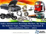 India Automotive Bearings Market, By Type (Deep Grove Ball Bearing Angular, Tapered Roller Bearing, Spherical Roller Bearing, etc.), By Vehicle Type (2W, PC, OTR, LCV, 3W & M&HCV), Competition Forecast & Opportunities,