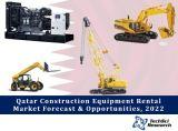 Qatar Construction Equipment Rental Market By Equipment Type (Crane, Diesel Generator, Excavator, Wheel Loader, Bull Dozer, Motor Grader and Telescopic Handler), Competition Forecast and Opportunities,