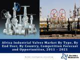 Africa Industrial Valves Market By Type (Ball Valve, Gate Valve, etc.), By End User (Oil & Gas, Power, etc.), By Country (Nigeria, Egypt, Angola, Algeria, South Africa, Morocco and Rest of Africa), Competition Forecast and Opportunities,