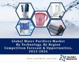 Global Water Purifiers Market By Technology (Membrane, Media & UV), By Region (Asia-Pacific, North America, Europe & Russia, Middle East & Africa and South America), Competition Forecast & Opportunities,