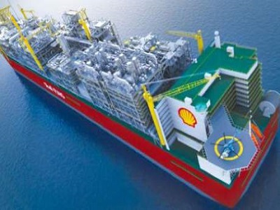 Shell FLNG project in Australia