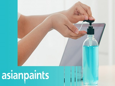 Asian Paints Forays into Hand & Surface Sanitizer