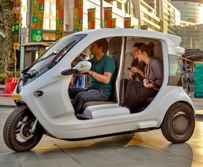 Electric three-wheelers driving clean energy mobility