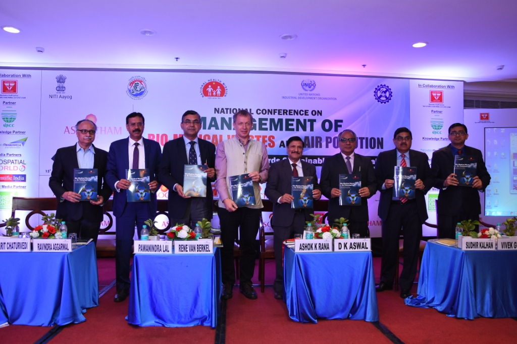 National Conference on MANAGEMENT OF BIO-MEDICAL WASTES and AIR POLLUTION organized by ASSOCHAM,2019