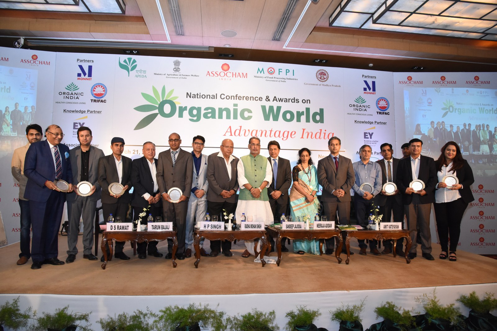 Organic World: Advantage India